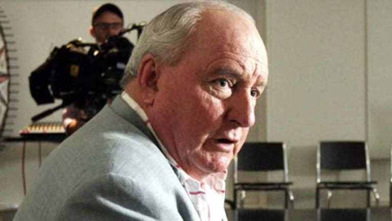 Alan Jones is present for the Brisbane Supreme Court proceedings.