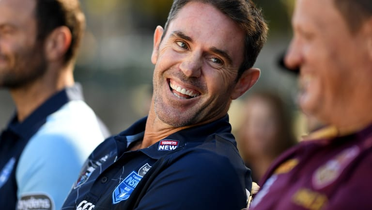 Full of energy: Brad Fittler is eating a vegan diet.