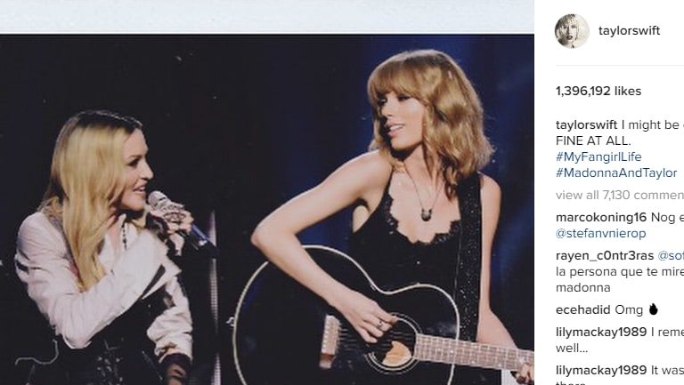 The popularity of celebrities such as Taylor Swift has boosted Instagram's value.
