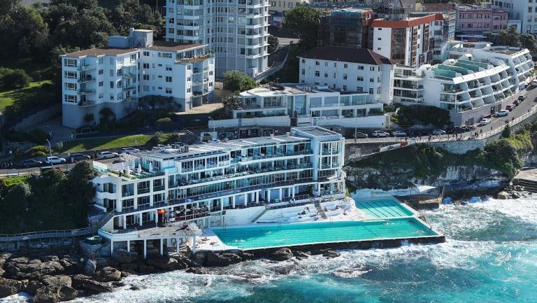 John Singleton sells the iconic Icebergs Dining and Bar.
