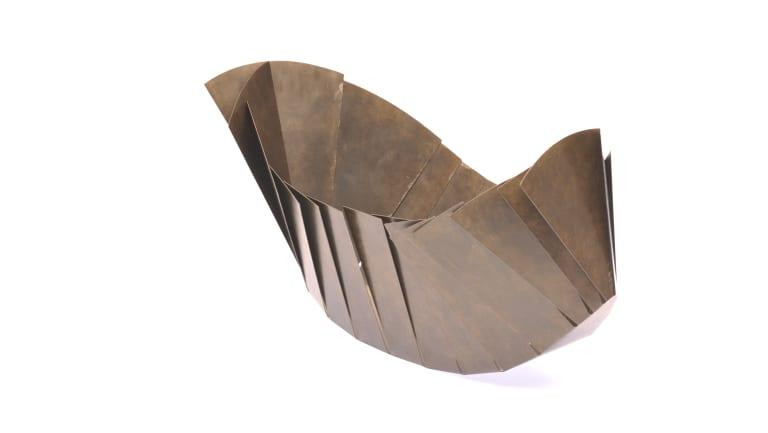 Larah Nott, Trilobite (object), in Fold Yield at Bilk Gallery.