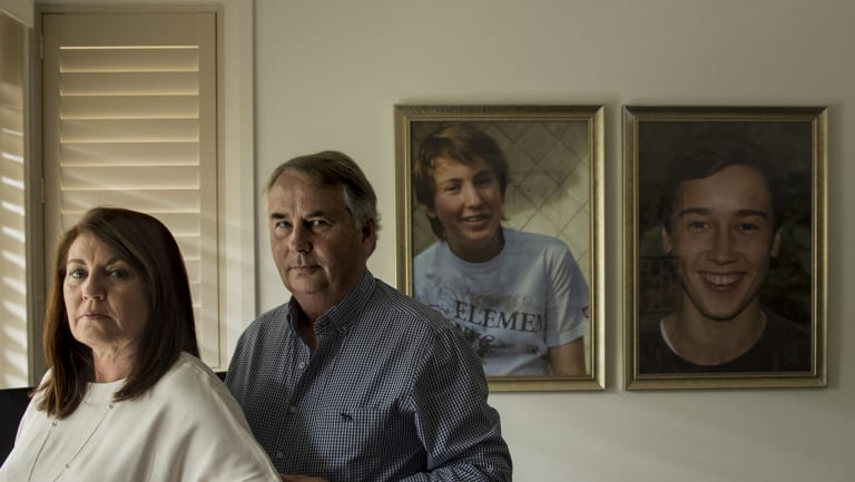 Kathy and Ralph Kelly at their home in Sydney.