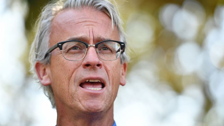 """""""I won't name who but I do understand that A-League clubs have expressed interest, and that's a start"""": David Gallop."""