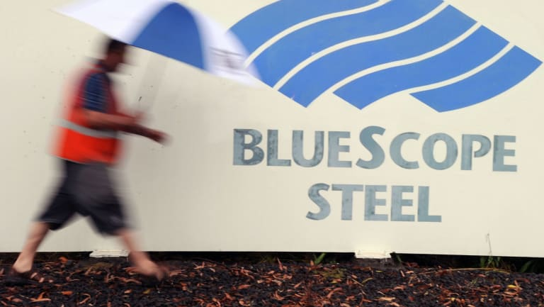 BlueScope Steel would be one of the beneficiaries if Trump went ahead with his tariffs.