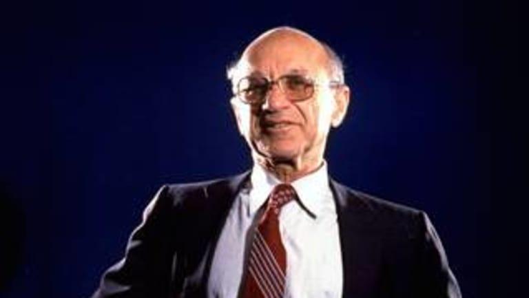 Dr Milton Friedman.
