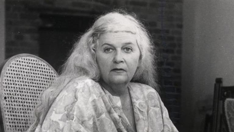 Rozanna and Kate Lilley's mother, poet Dorothy Hewett, pictured in 1982.