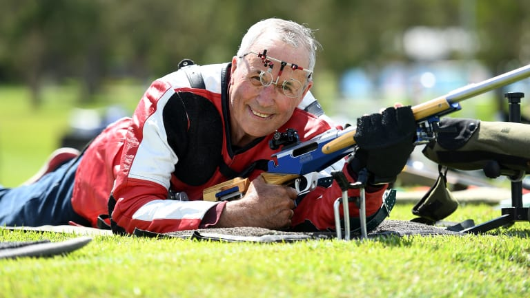 Robert Pitcairn is going for gold at the Commonwealth Games.
