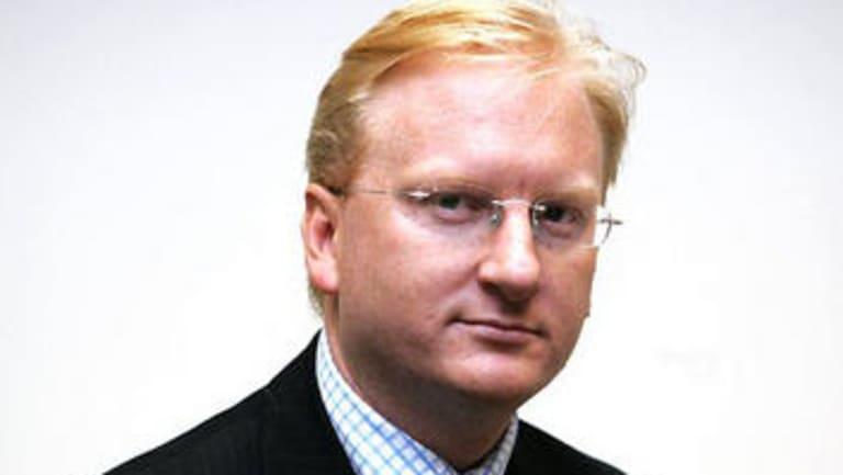 The Australian's editor Paul Whittaker.