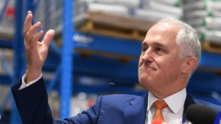 In the firing line: Prime Minister Malcolm Turnbull.