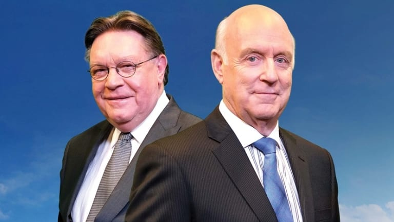 Bryan Dawe and John Clarke, one of television's most enduring comedic partnerships.