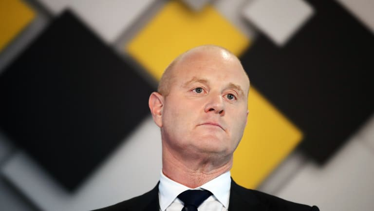 CBA chief Ian Narev said bank profitability should be looked at over the economic cycle.