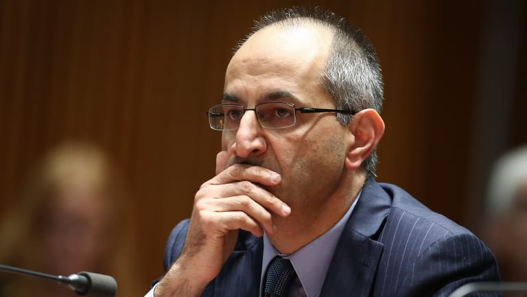 Michael Pezzullo, head of the Department of Home Affairs.