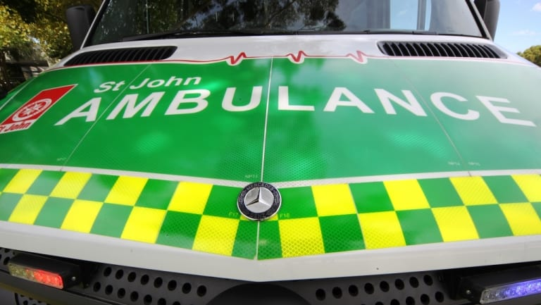 Six people were rushed to hospital.
