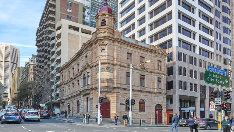 This heritage office block at 25 King Street, Sydney is on the market.