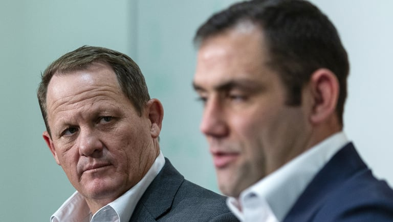 Hot seat: Kevin Walters faces life without Cameron Smith.