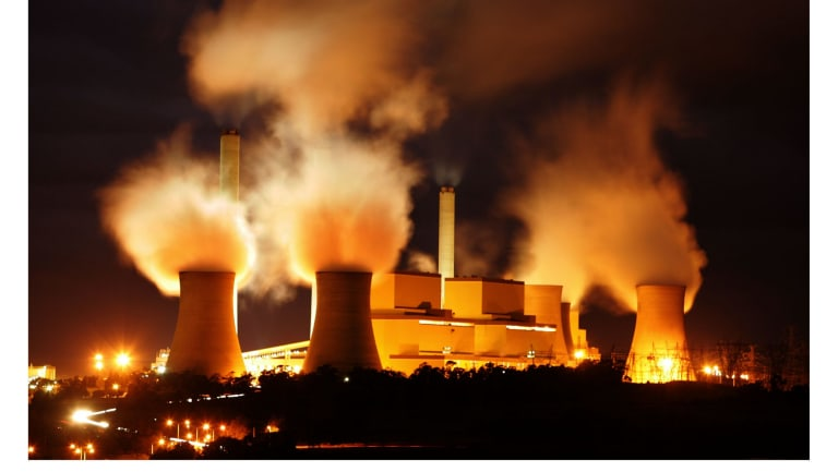 AGL's Loy Yang A power plant: new uses being sought for its brown coal mine.