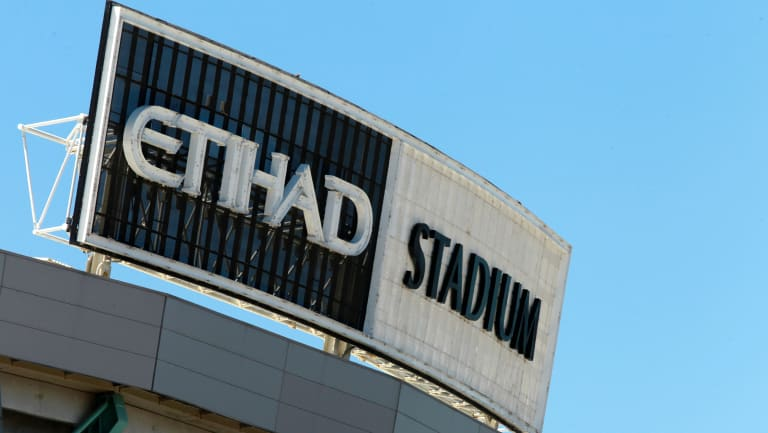 Etihad Stadium no more. From September 1, it will be known as Marvel Stadium.