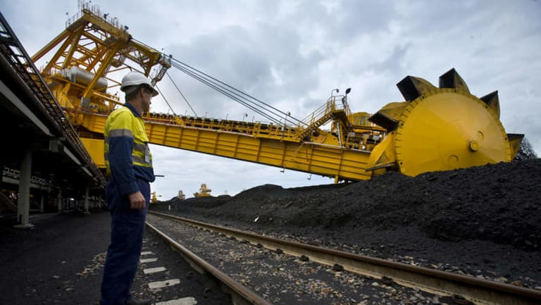 Port Waratah Coal Services's coal facility on Kooragang Island, Newcastle. Plan for expansion scrapped.