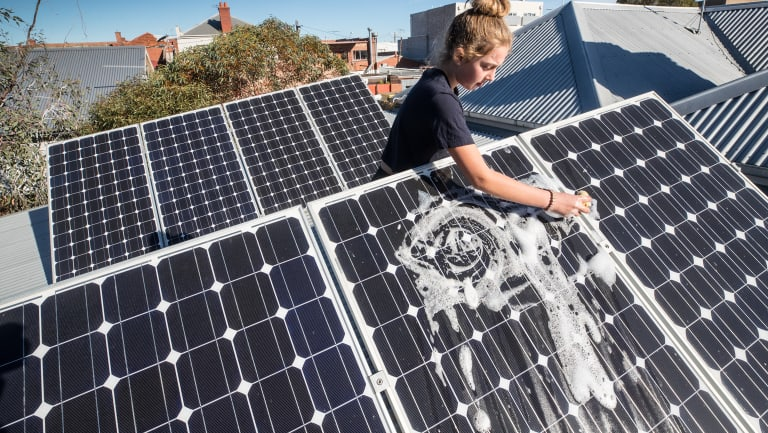 Cleaning up: Solar PV demand is soaring - for now.