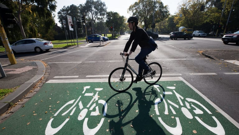 More bike tracks are needed to make riding safe on city streets.