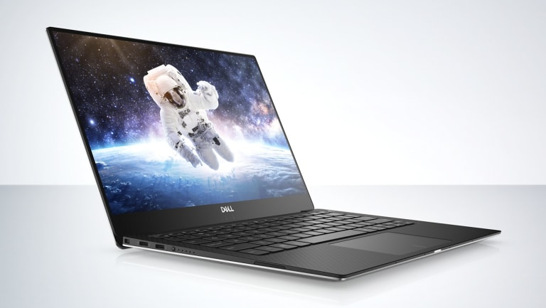 The new XPS 13 has almost eliminated its screen borders.