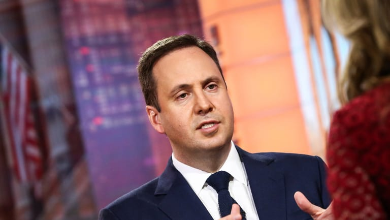 Steven Ciobo, Australia's trade and investment minister, during a Bloomberg Television interview in New York.