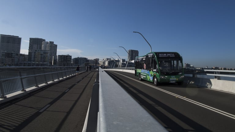 Billbergia said the developer decided to put on the free service after being told residents might not use the bus.