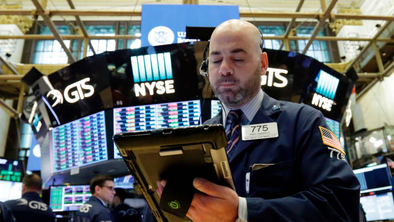 The gains continued on Wall Street.
