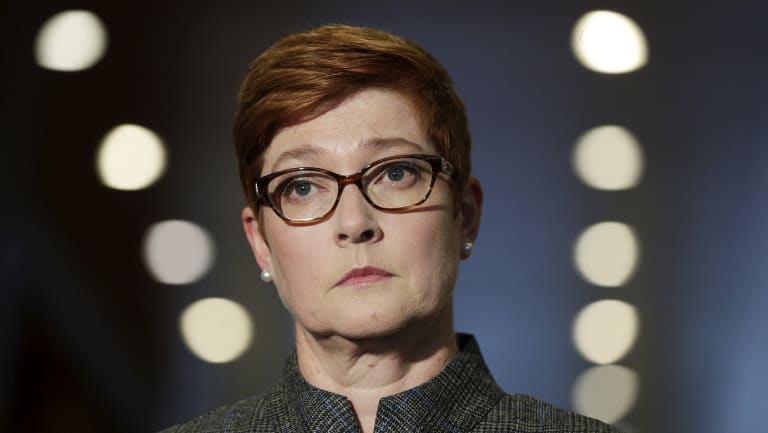 Defence Minister Marise Payne.