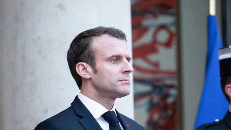 The French government criticism comes as President Emmanuel Macron has been reinforcing bilateral ties.