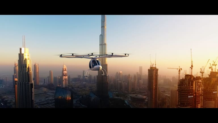 The Volocopter 2X is designed for short taxi trips rather than private ownership.