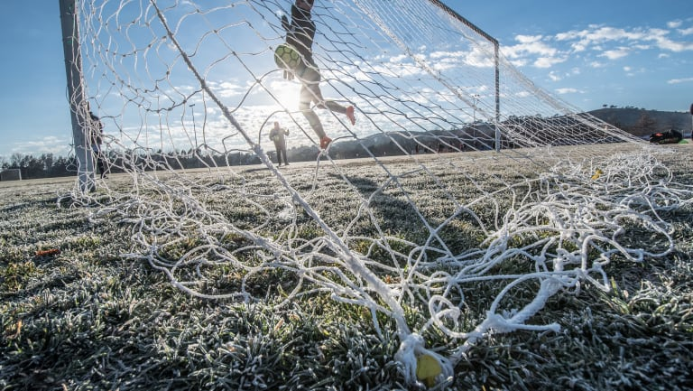 Spare a thought for the Kanga Cup players who took the field on sub-zero Canberra mornings last week.