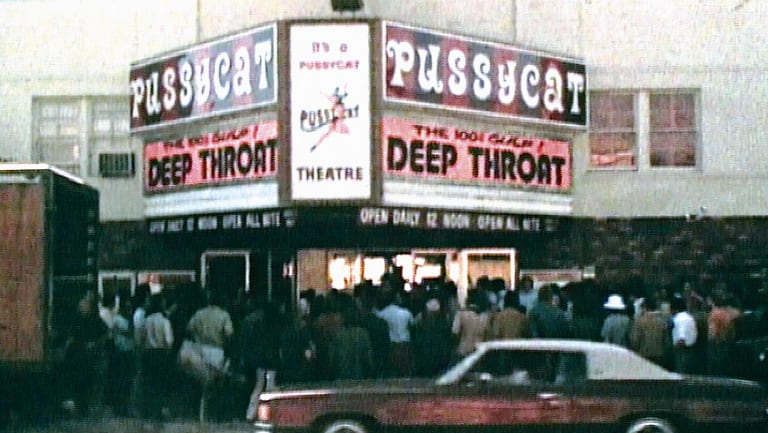 The pornographic film Deep Throat has been a source of controversy since it was first released in the 1970s.