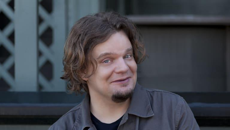 Finnish comedian Ismo Leikola.