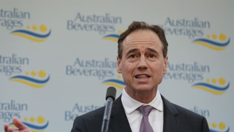 "Health Minister Greg Hunt says My Health Record is ""the world's leading and most secure medical information system at any national level."""