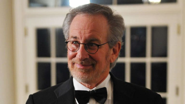 Legendary director and producer Steven Spielberg.