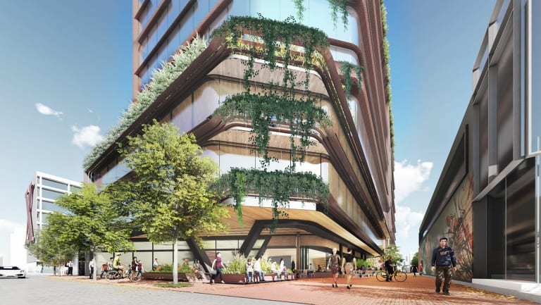 Alfasi Properties plans for an office at 506-508 Church Street Cremorne.