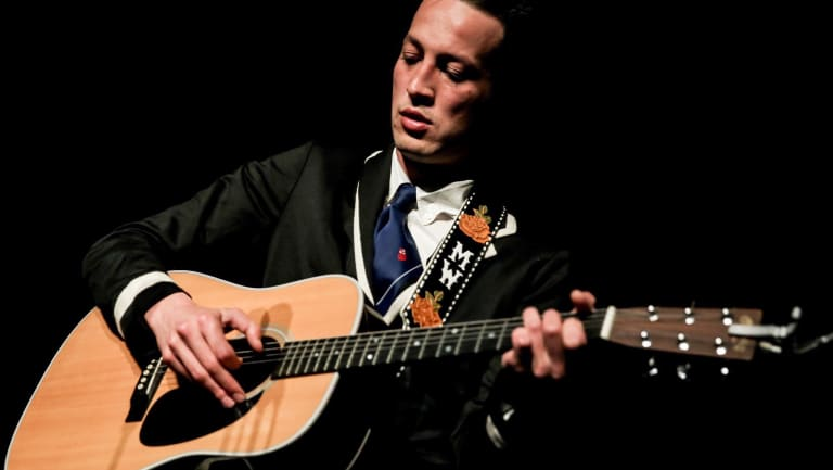 Marlon Williams at the Forum on Saturday.