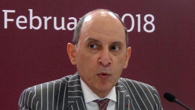 Qatar Airways' Chief Executive Akbar al-Baker