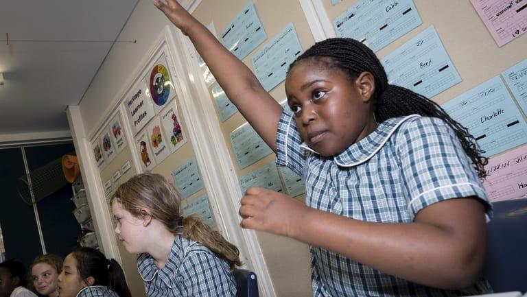 Christadelphian Heritage College's principal Felicity Shields said the school starts evaluating students before they start kindergarten.