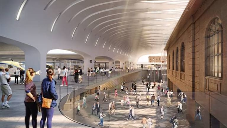 Woods Bagot and John McAslan + Partners are the architectural partners delivering the Sydney Metro upgrade to Central Station, a key component of the Sydney Metro City & Southwest project.