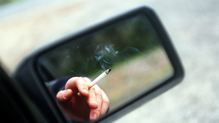 Thousands of Queenslanders have been fined for smoking in cars carrying children.