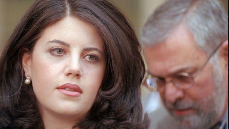 Former White House intern Monica Lewinsky in 1998.