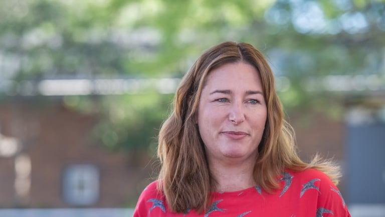ACT Minister for Women Yvette Berry.