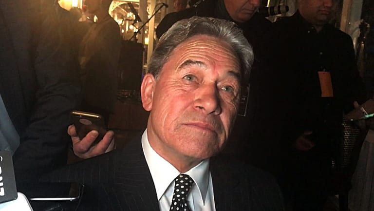 New Zealand Acting PM Winston Peters