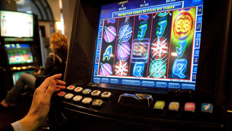 More than $215 million was lost by Queenslanders playing the pokies in just one month.