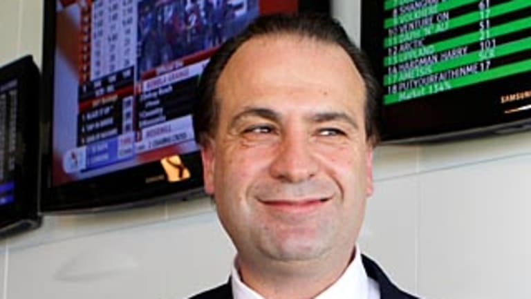 In a good position: Racing NSW chief executive Peter V'landys will not put up race fields fees, which could lead to bookmakers promoting Sydney racing over Victoria.