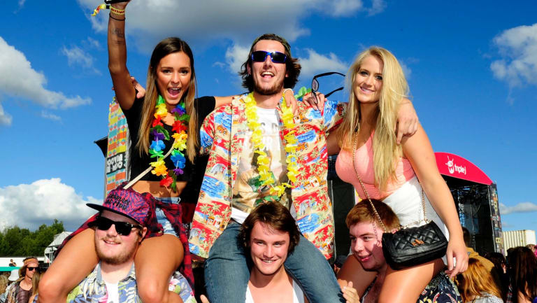 Groovin The Moo is back on at University of Canberra on Sunday.