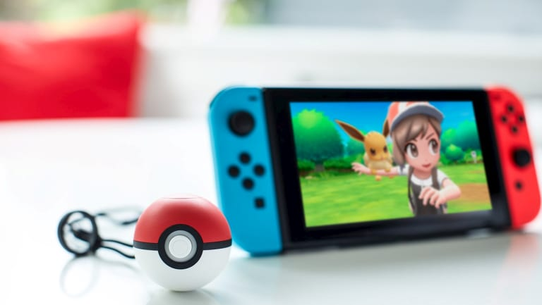 The new Poke Ball Plus will let players store one pokemon to take out into the world with them, and it's also a controller.