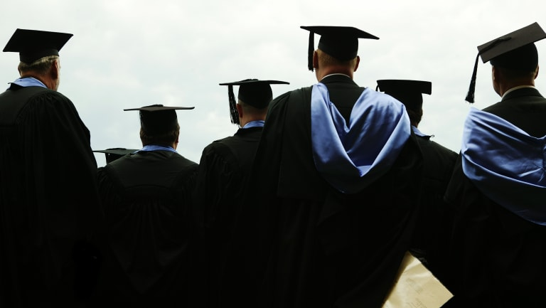 Federal funding freezes could result in limited availability of higher education to domestic students, the report found.